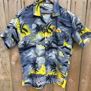 Hawaiian Aloha Shirt sz L by ULUWATU EUC